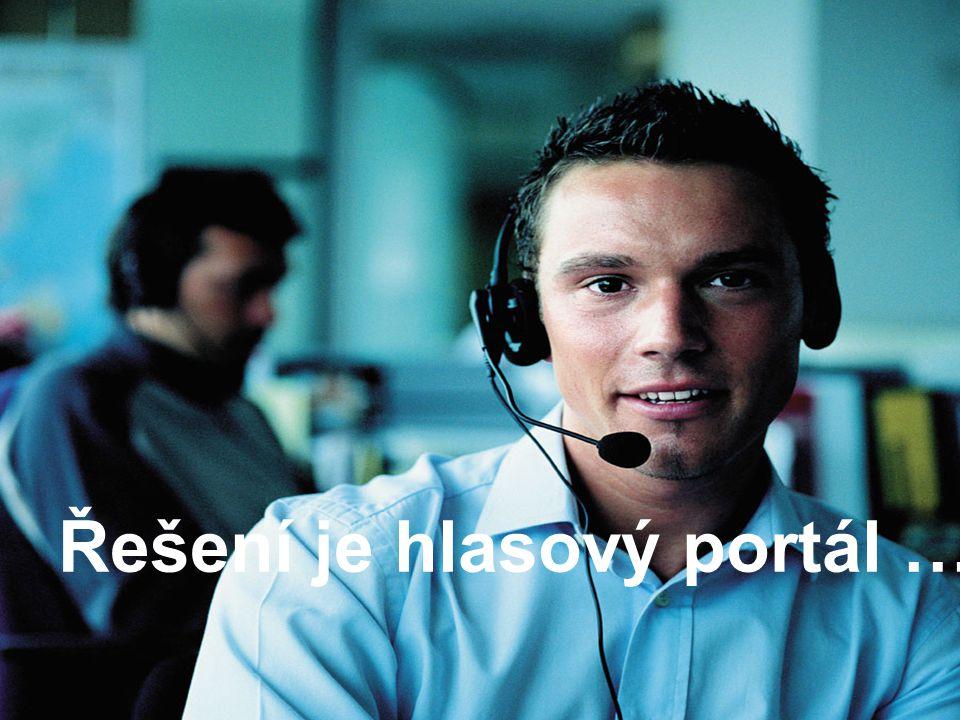 Vaše jistota na trhu IT www.i.cz Řešení je hlasový portál …