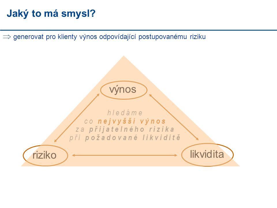 DIVERZIFIKACE - PROČ.