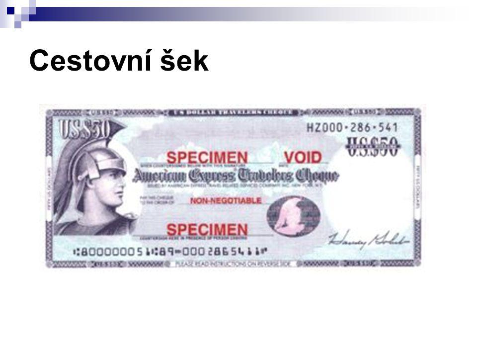 Cestovní šek