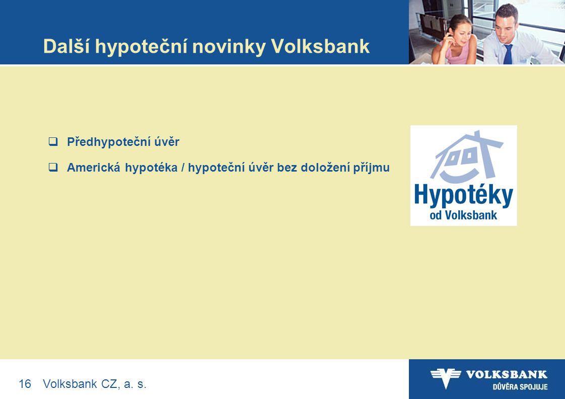 16Volksbank CZ, a. s.