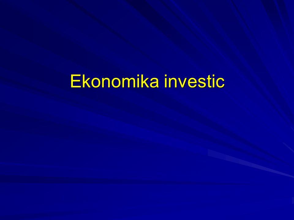 Ekonomika investic