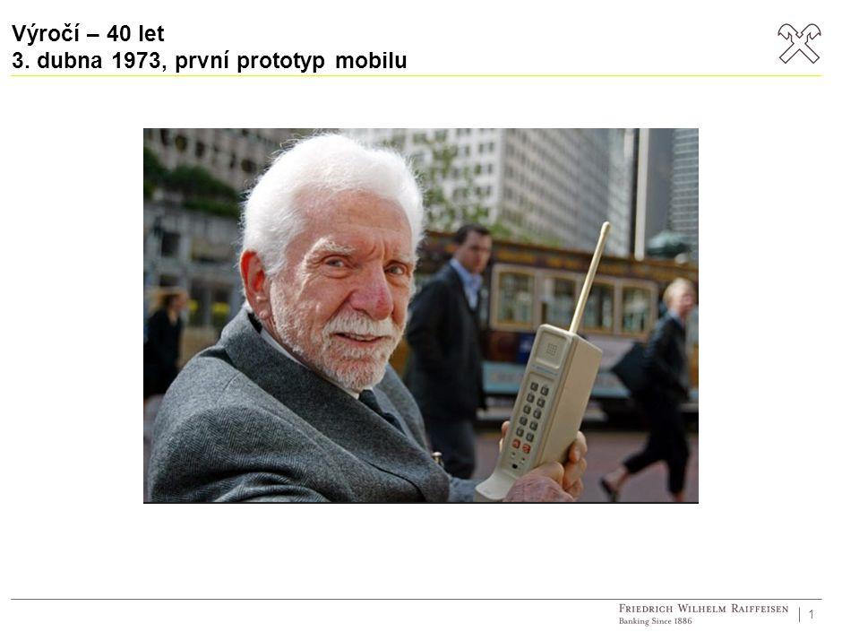 Výročí – 40 let 3. dubna 1973, první prototyp mobilu 1