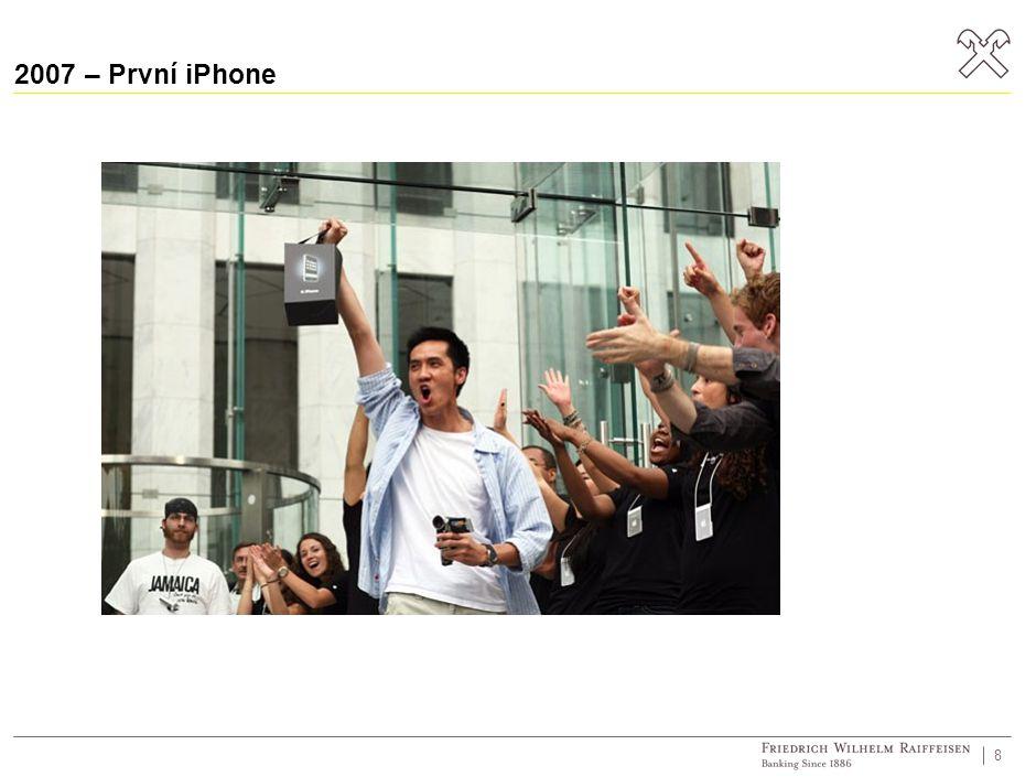 2007 – První iPhone 8