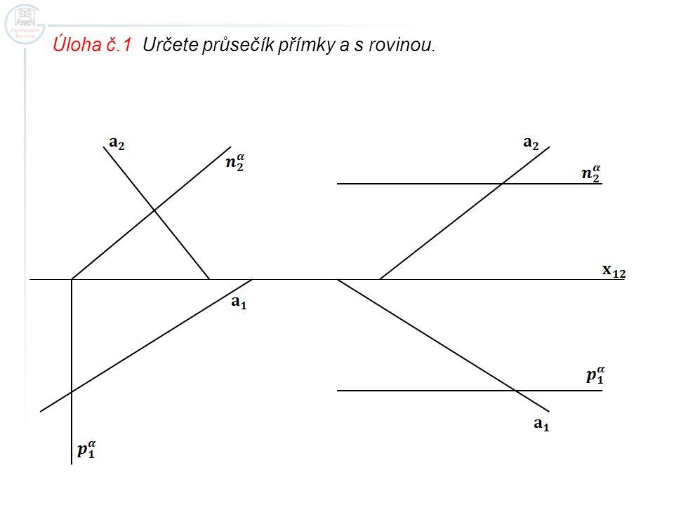 Úloha č.1 Řešení. ==