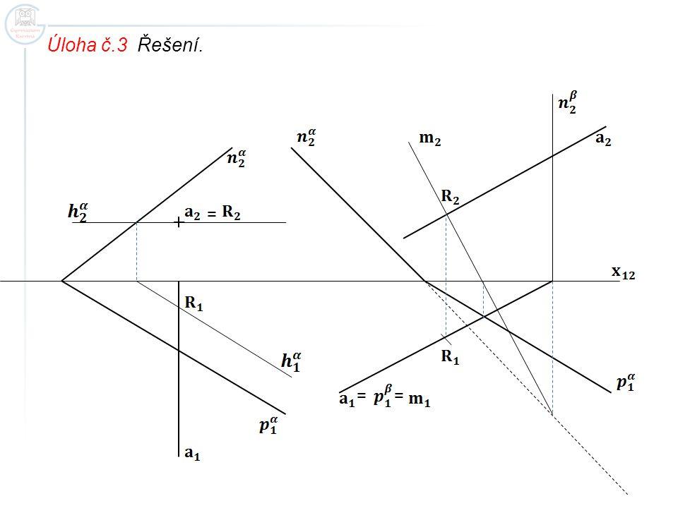 Úloha č.3 Řešení. = ==