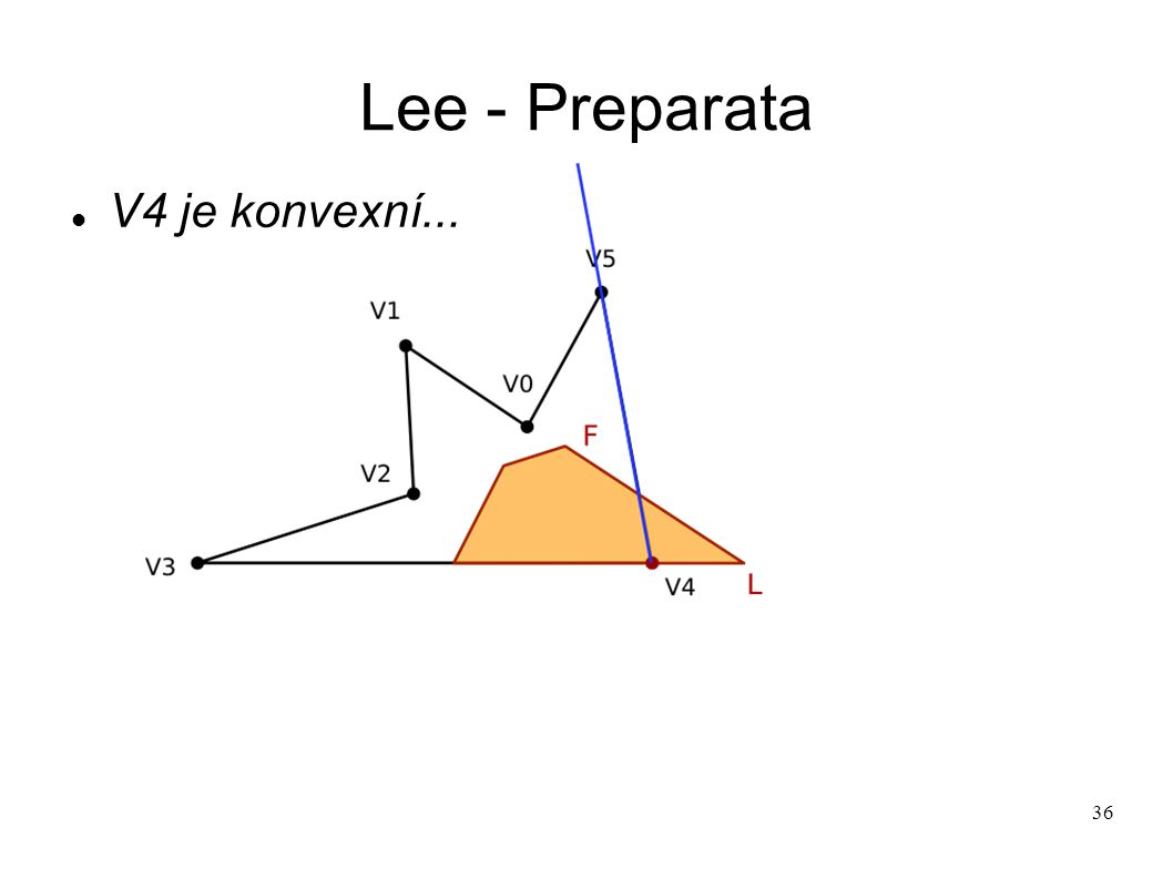 36 Lee - Preparata V4 je konvexní...