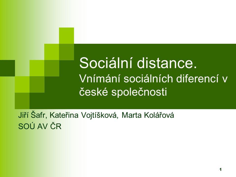 1 Sociální distance.