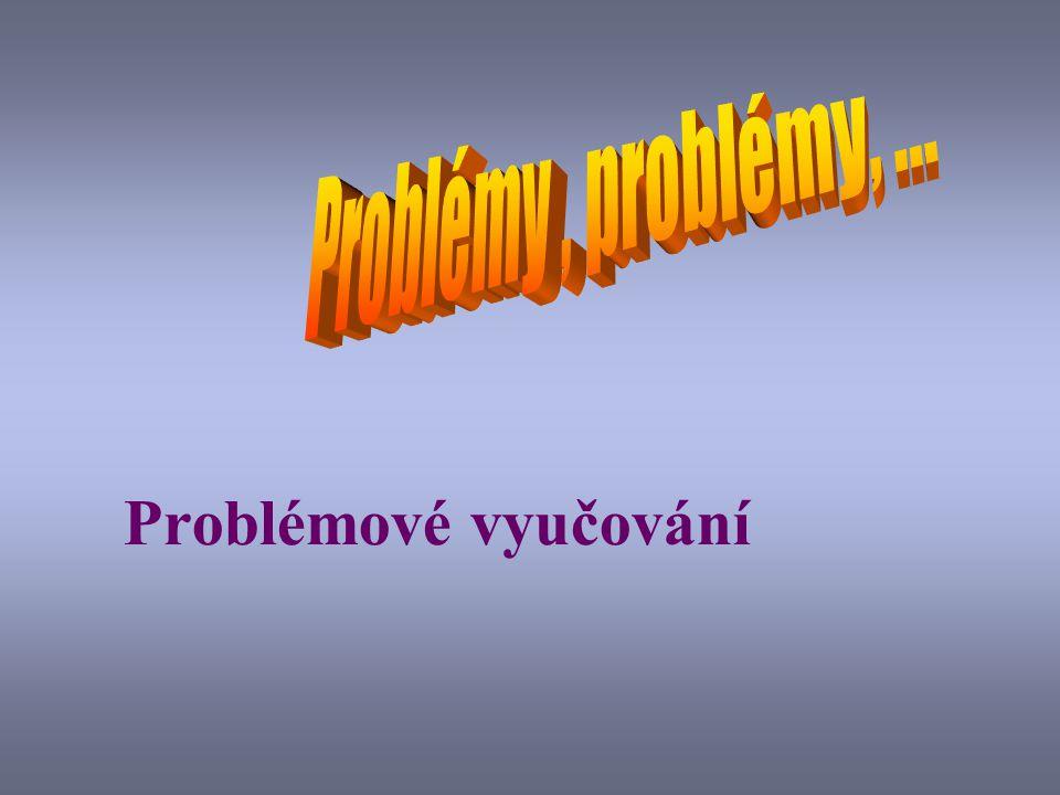 Problémové vyučování