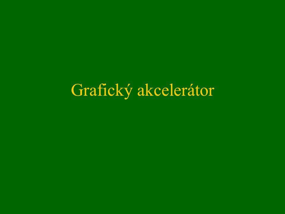 Grafický akcelerátor