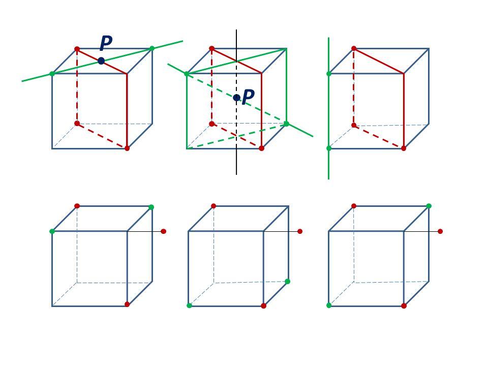 P P přímka je s rovinou rovnoběžná