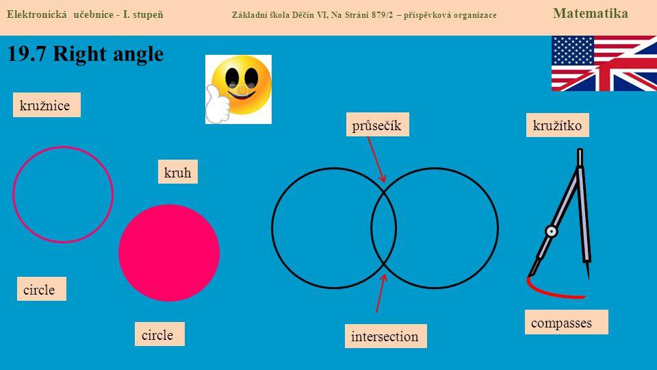 19.7 Right angle Elektronická učebnice - I.