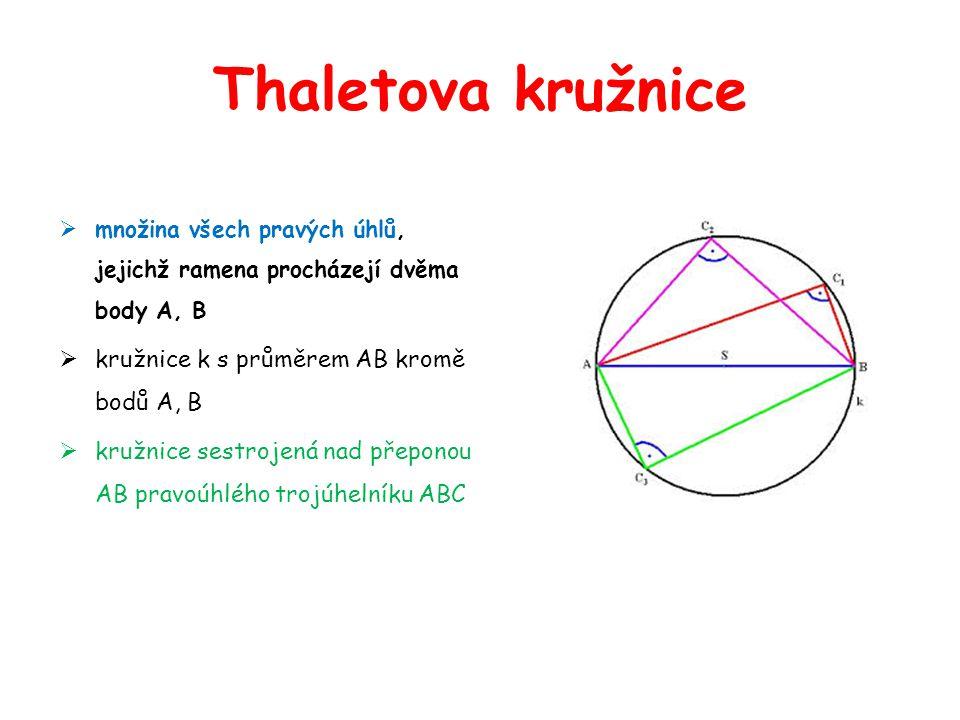 Konstrukce tečen t z bodu TEČNA – kolmá k přímce, která prochází bodem dotyku a středem kružnice.