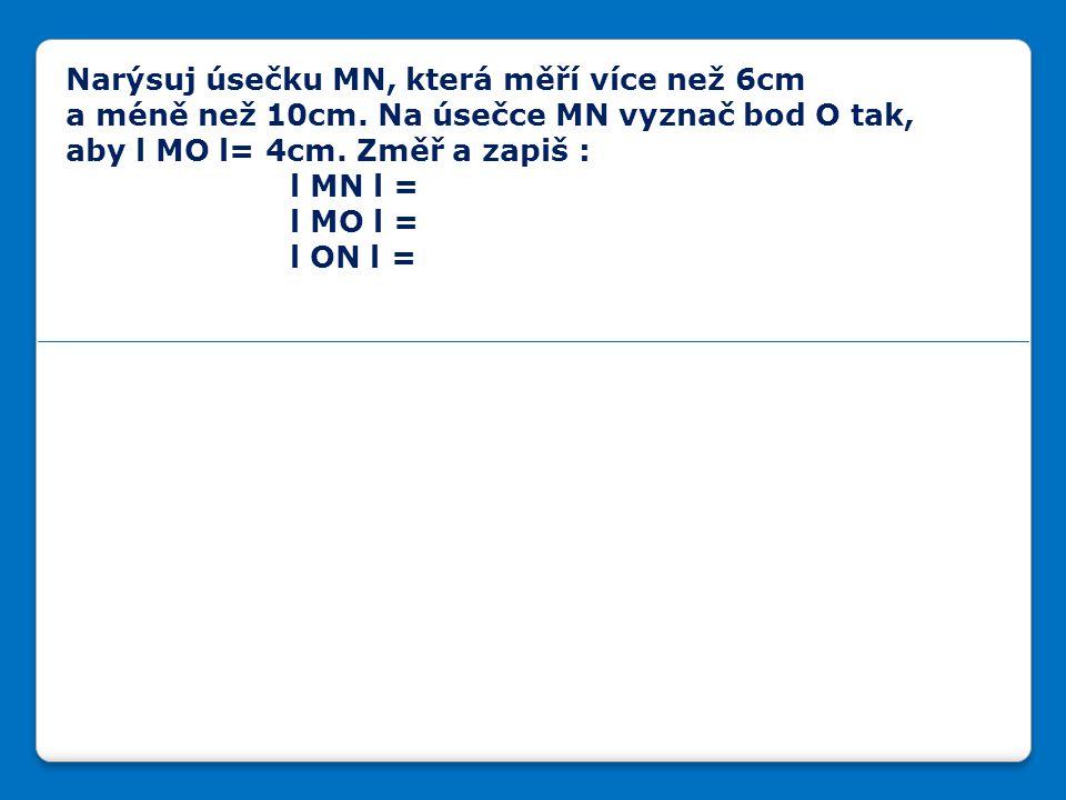 Narýsuj různoběžné přímky c,d a jejich průsečík označ P.