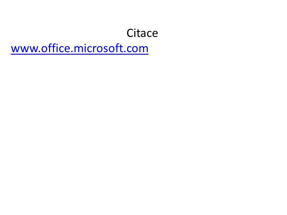 Citace www.office.microsoft.com