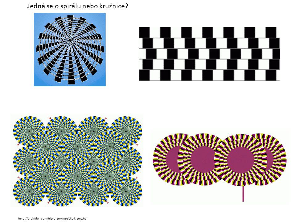 Jedná se o spirálu nebo kružnice?