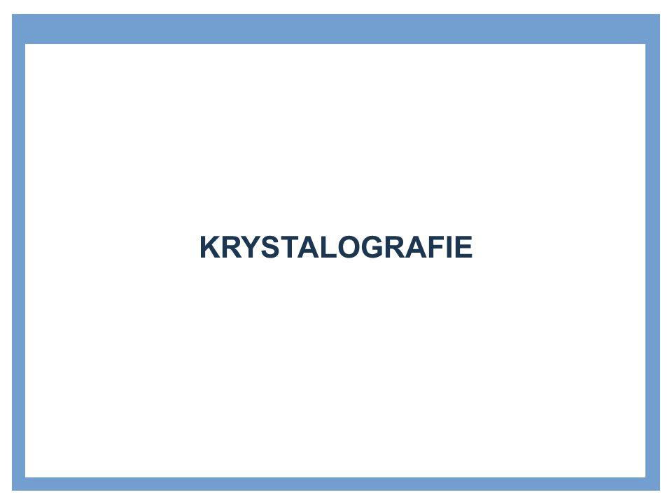 »Nauka, která se zabývá studiem struktury krystalů a jejich poruchami »Základní dělení krystalů: »monokrystaly »polykrystaly