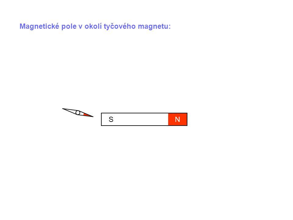 NS Magnetky se orientují podél jistých křivek.