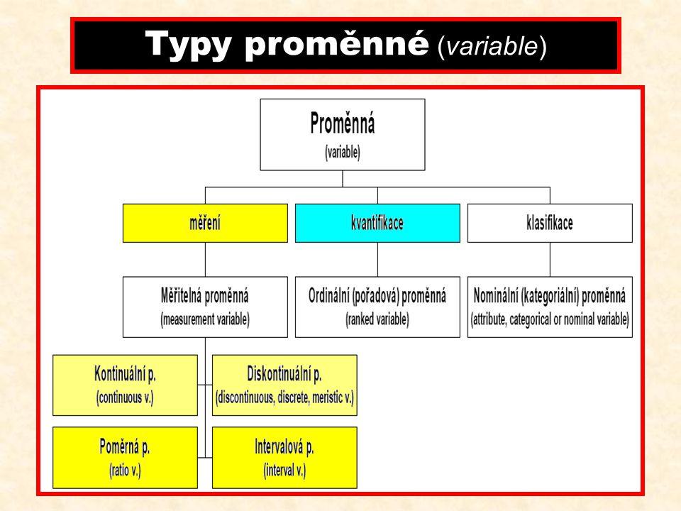 Základní soubor je soubor všech statistických jednotek, na něž se vzta- huje příslušné zkoumání Výběrový soubor podmnožina základního souboru jež je v