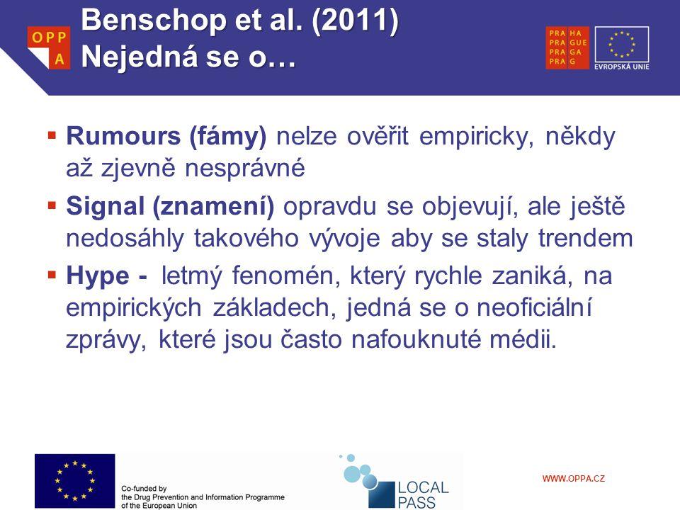 WWW.OPPA.CZ Benschop et al.