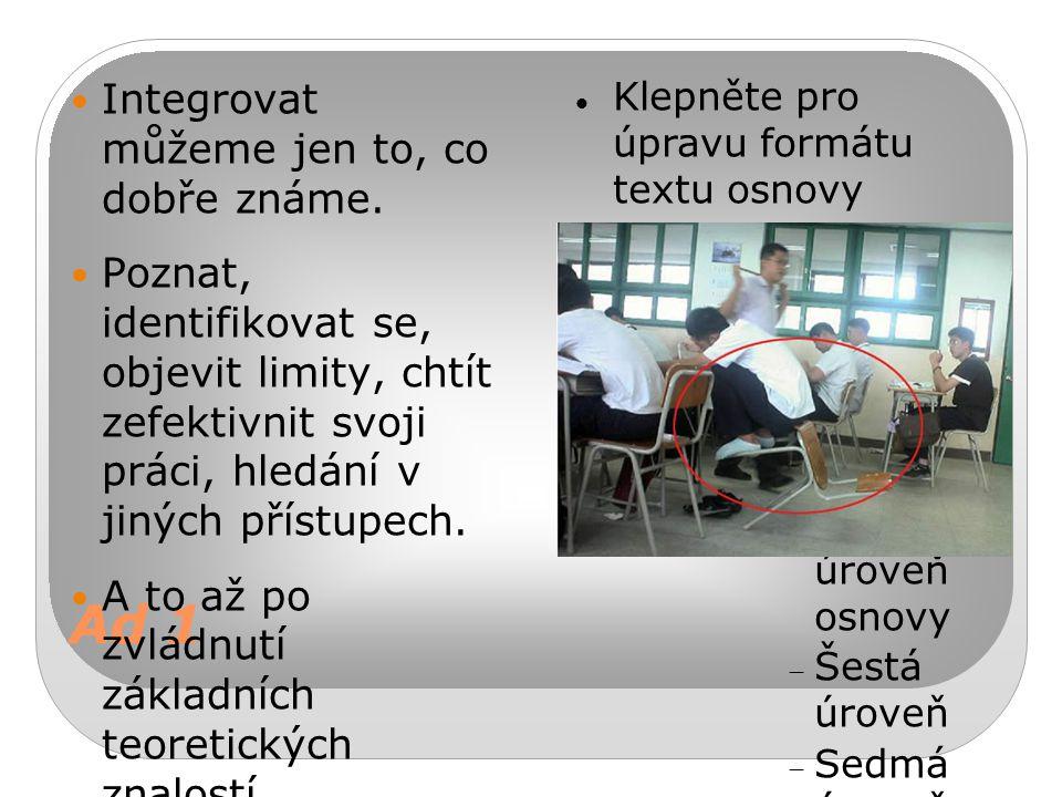 Klepněte pro úpravu formátu textu osnovy Druhá úroveň  Třetí úroveň Čtvrtá úroveň osnovy  Pátá úroveň osnovy  Šestá úroveň  Sedmá úroveň  Osmá úroveň textu Devátá úroveňKlepnutím lze upravit styly předlohy textu.