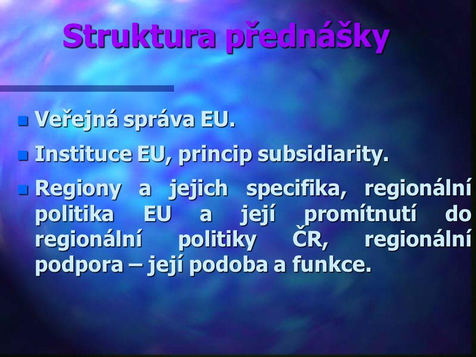 Regionální politika Evropské unie Ing. Marian Lebiedzik, Ph.D Kontakt: lebiedzik@opf.slu.cz tel: 596 398 248, 606 348 036