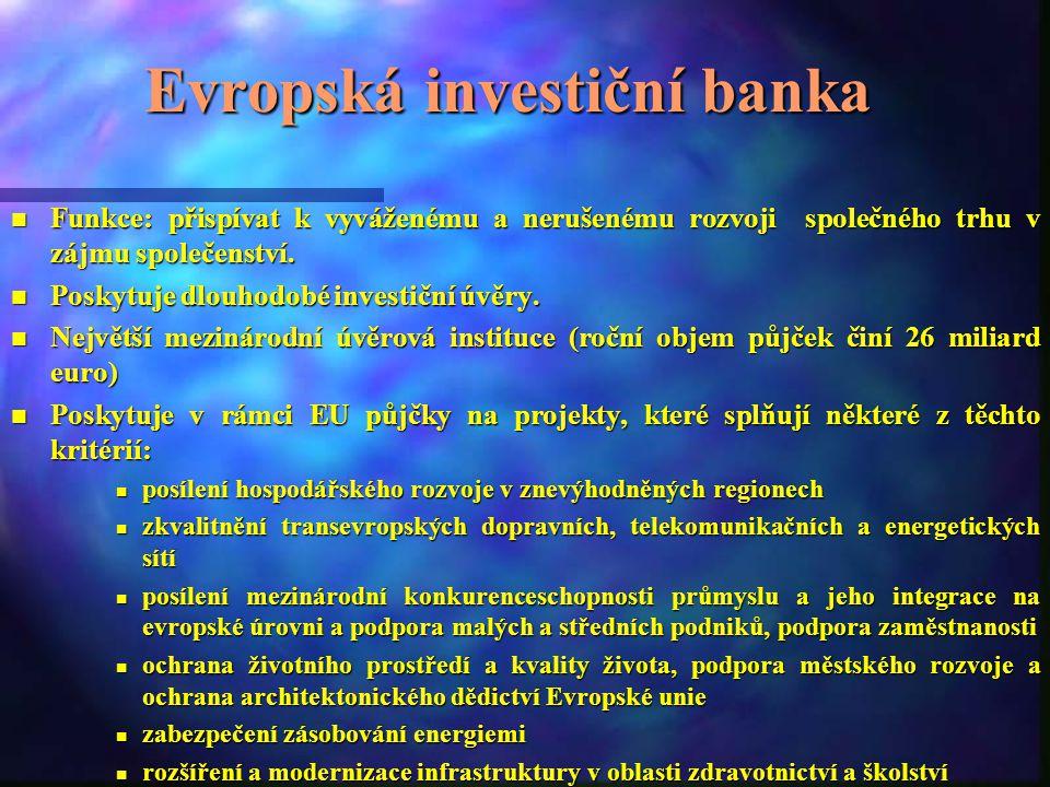 Další důležité instituce EU nEnEnEnEvropský účetní dvůr nEnEnEnEvropský ombudsman