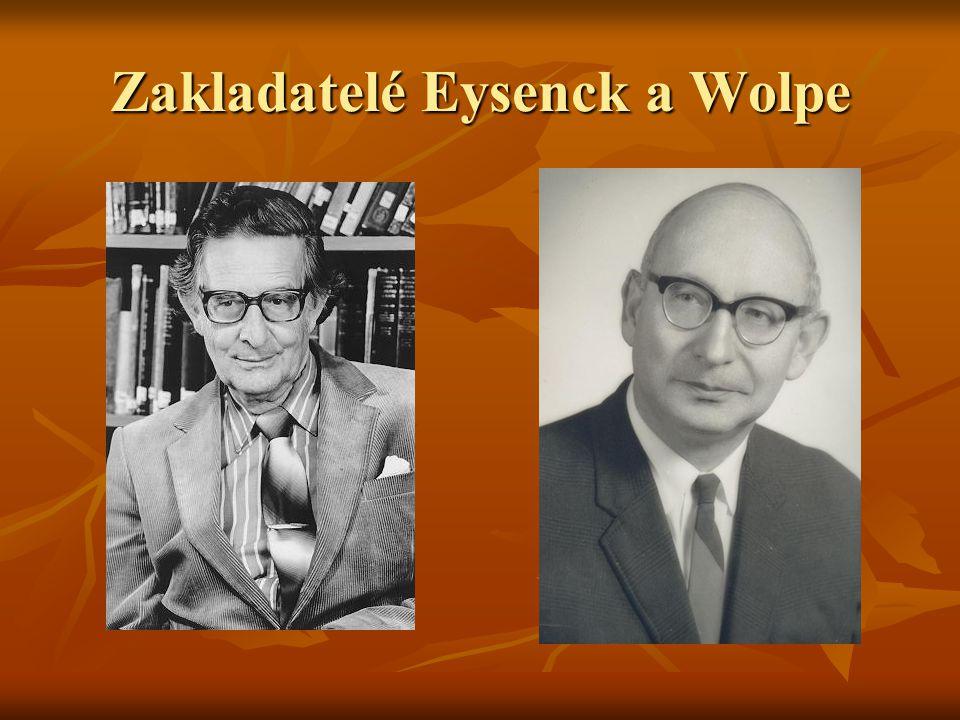 Zakladatelé Eysenck a Wolpe