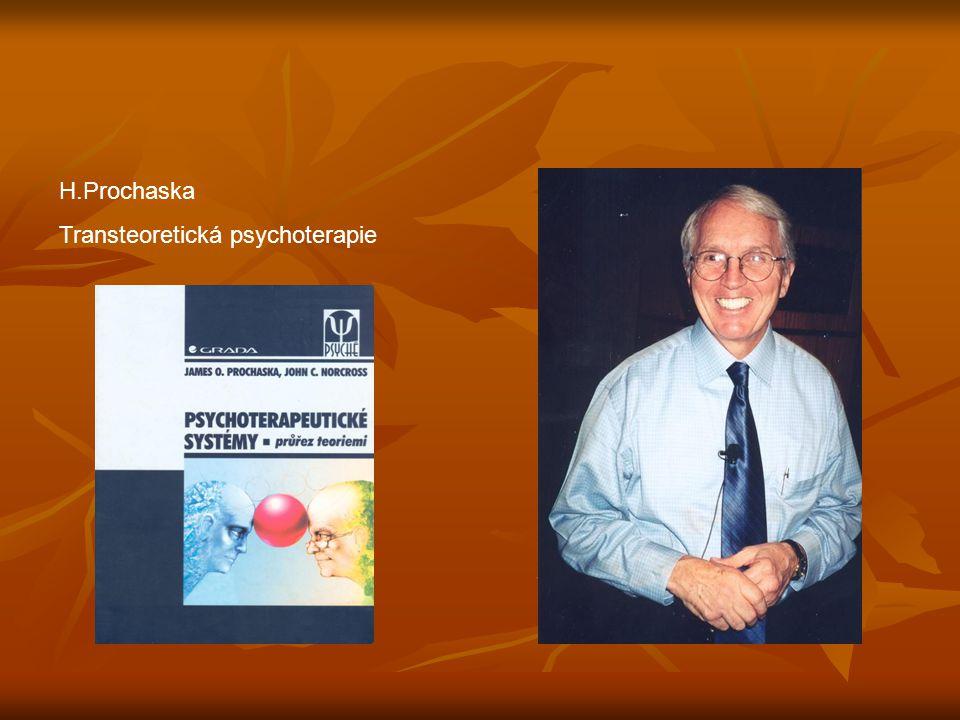 H.Prochaska Transteoretická psychoterapie