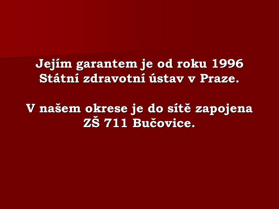 Jejím garantem je od roku 1996 Státní zdravotní ústav v Praze.