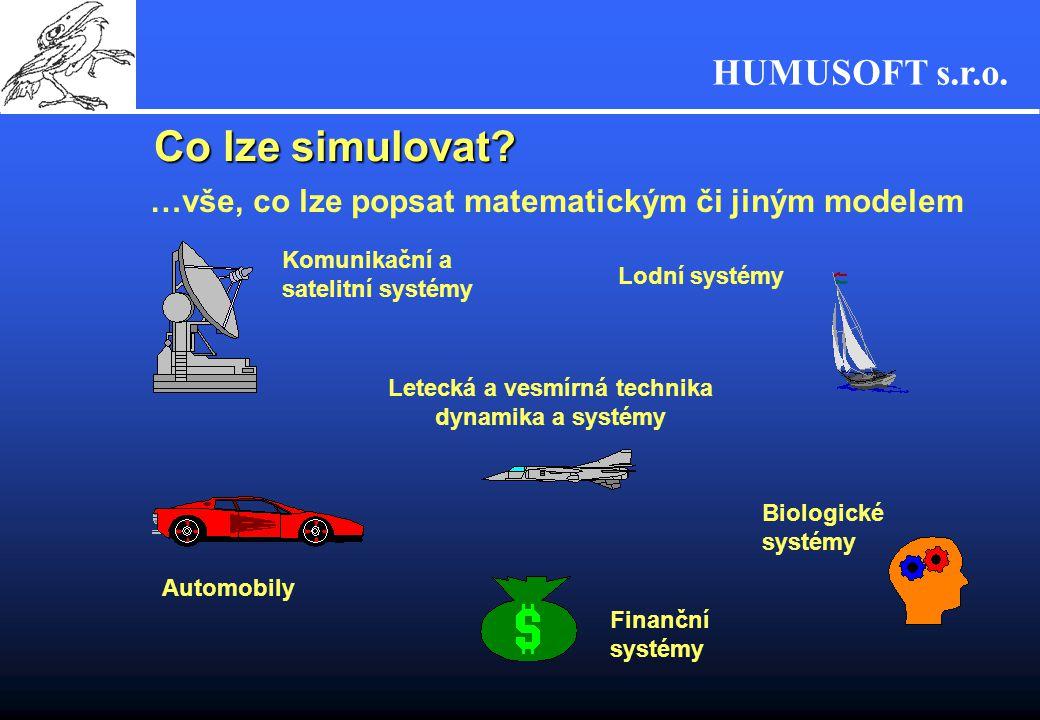 HUMUSOFT s.r.o....To jsou všechno výrobky . Simulovat je ale možno také...