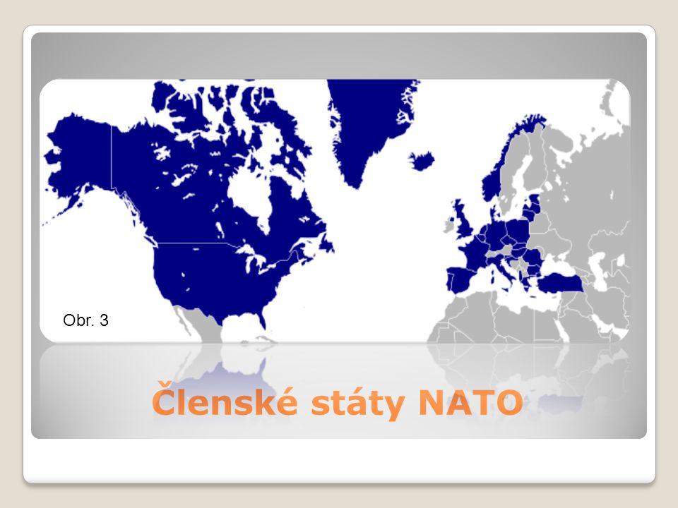 Členské státy NATO Obr. 3