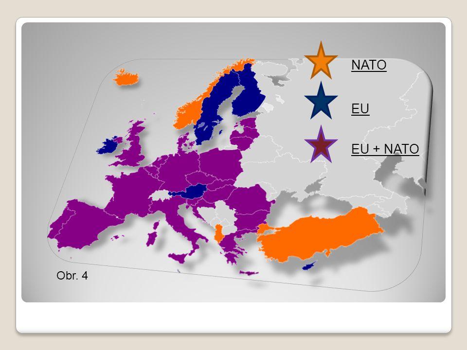 Obr. 4 NATO EU EU + NATO