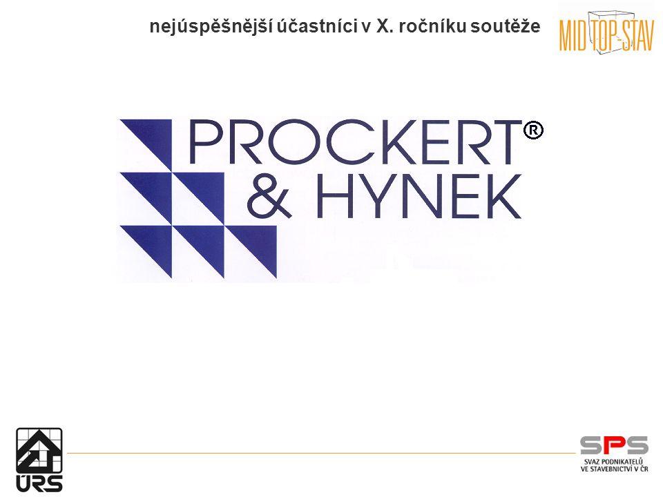 nejúspěšnější účastníci v X. ročníku soutěže Procter a Hynek