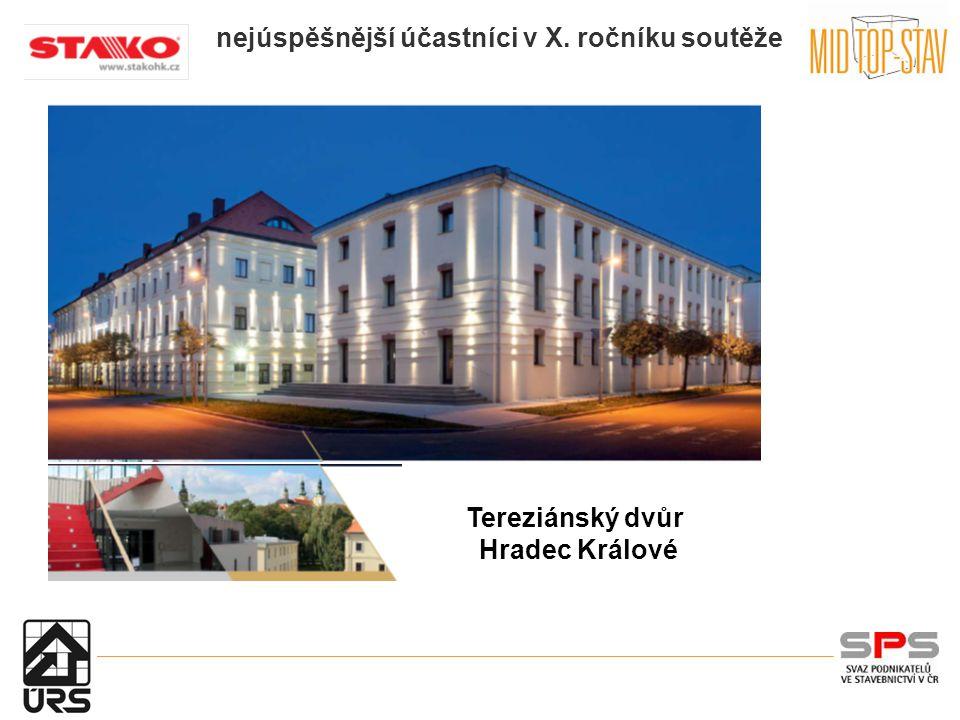 nejúspěšnější účastníci v X. ročníku soutěže Tereziánský dvůr Hradec Králové