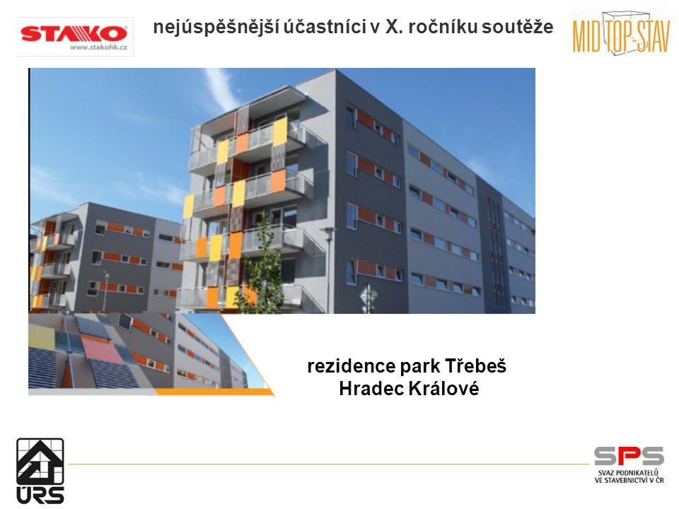 nejúspěšnější účastníci v X. ročníku soutěže rezidence park Třebeš Hradec Králové