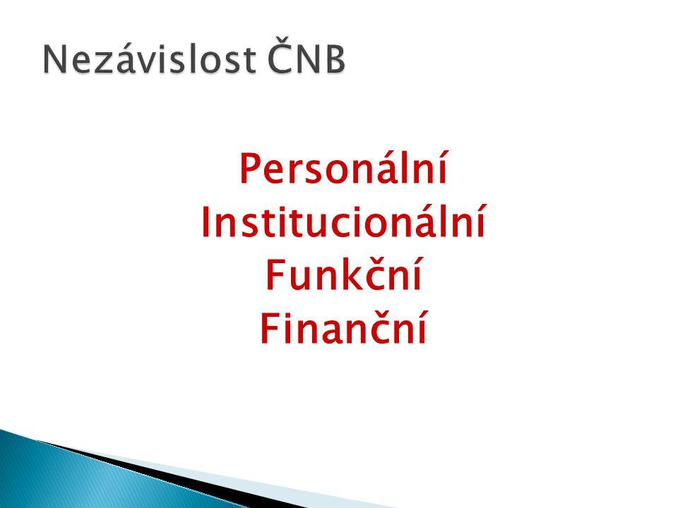 Personální Institucionální Funkční Finanční