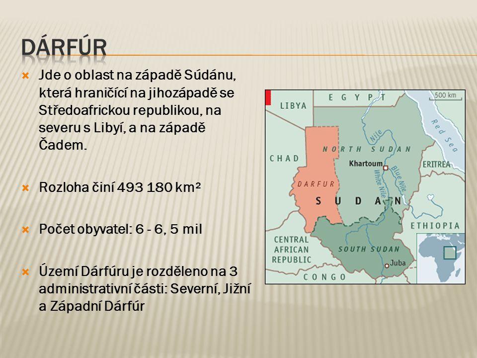  Jde o oblast na západě Súdánu, která hraničící na jihozápadě se Středoafrickou republikou, na severu s Libyí, a na západě Čadem.  Rozloha činí 493
