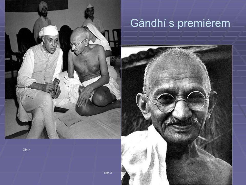 Gándhí s premiérem Obr. 3 Obr. 4