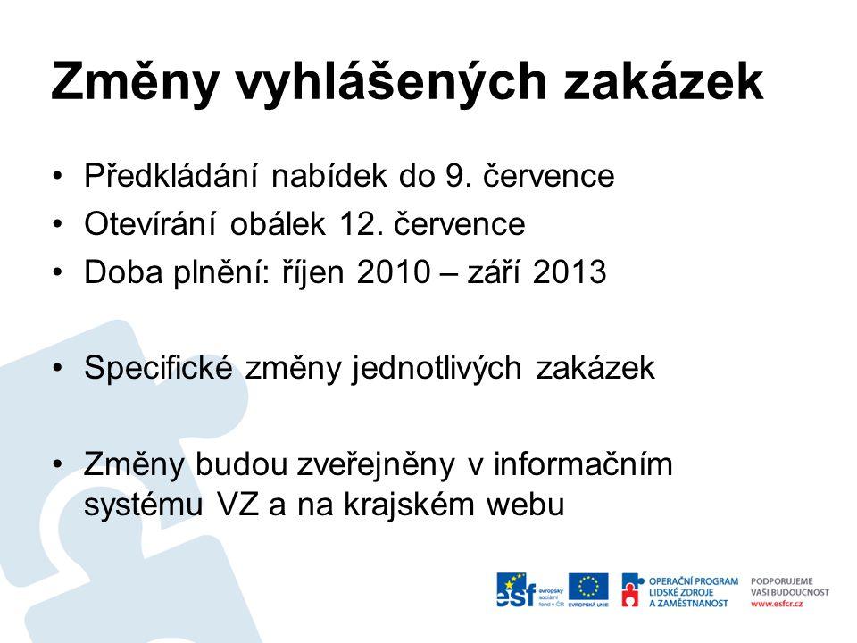 Soulad s registrem V rámci zakázek poptávány soc.služby poskytované dle zákona o soc.