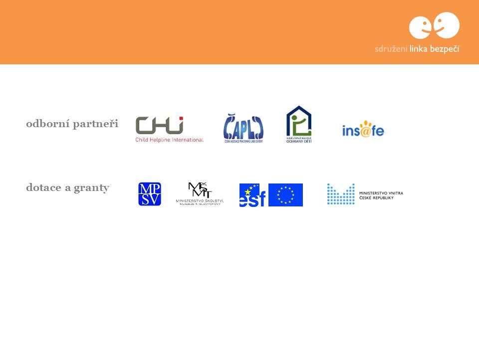odborní partneři dotace a granty