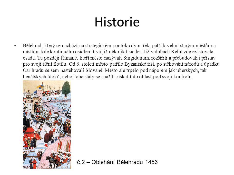 Historie Bělehrad, který se nachází na strategickém soutoku dvou řek, patří k velmi starým městům a místům, kde kontinuální osídlení trvá již několik