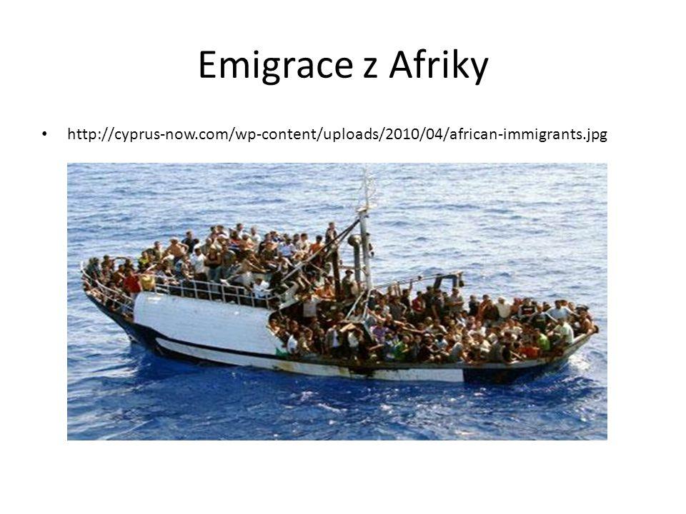 Imigrace = přistěhovalectví Většinou z hospodářsky méně vyvinutých zemí Ze zemí východní Evropy do západní Evropy Uprchlíci – odkázání na humanitární pomoc Etnické čistky – vysídlení obyvatelstva určité národnosti