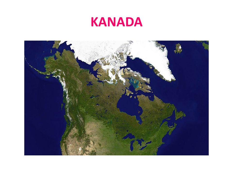 KANADA  Kanada je jedním z nejdůležitějších světových dodavatelů zemědělských produktů.