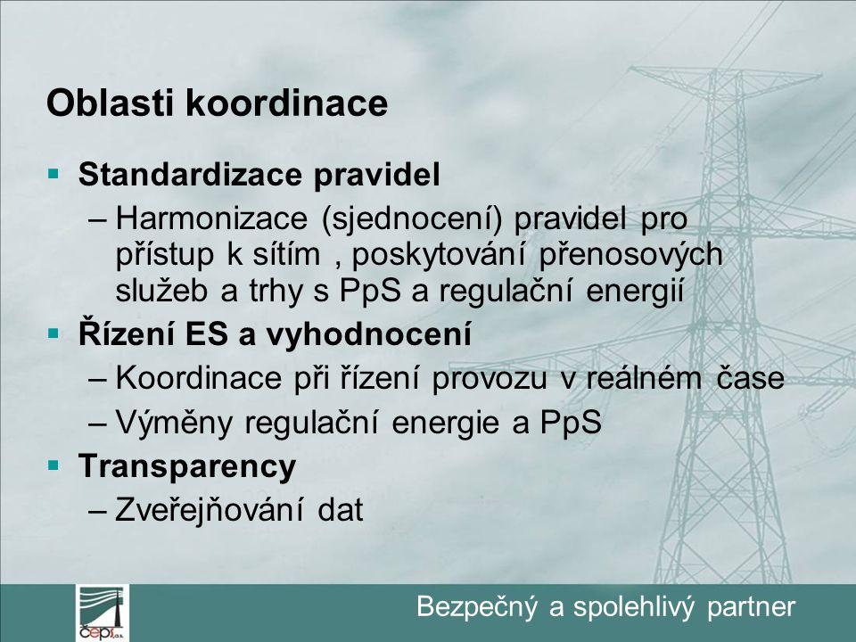 """Bezpečný a spolehlivý partner RIO ve vztahu na """"národní energetiky  Rozvoj PS již bude sledovat regionální optimum  možné dočasné omezení pro národní PS  Spolehlivost ES bude řízena regionálně (některá rozhodnutí či omezení definovaná na úrovni regionu mohou mít rozdílné dopady v jednotlivých národních PS)  Pokud bude RIO rozhodovat o investicích, může být vlastník národní PS donucen k investicím, které budou financovány v národních tarifech, přestože jsou primárně v zájmu jiných zemí regionu"""