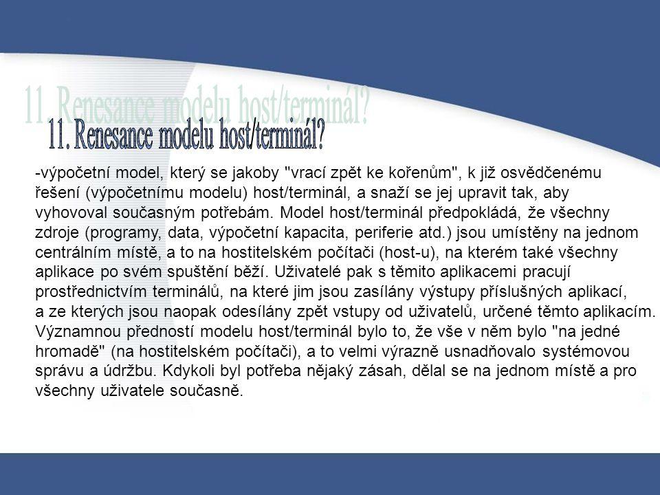 -výpočetní model, který se jakoby