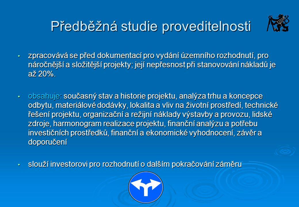 Další možnosti stanovení ceny projektových prací a inženýrských činností  Sazebník pro navrhování nabídkových cen projektových prací a inženýrských činností  Individuální kalkulace