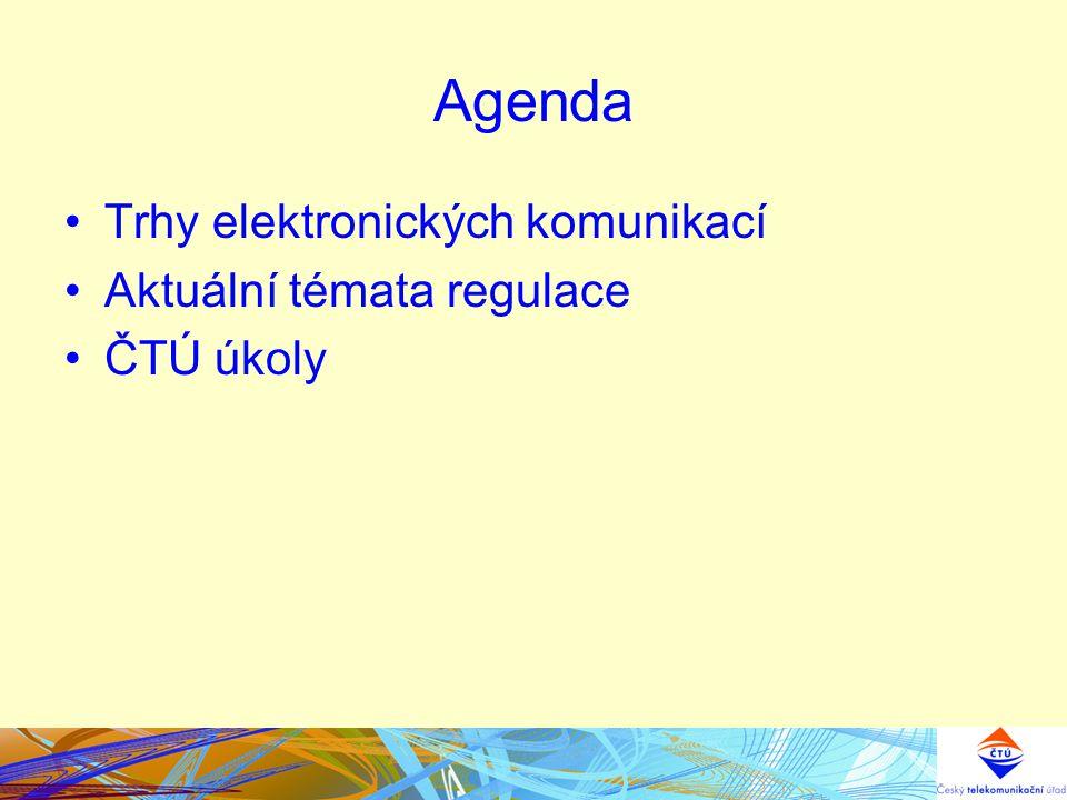 """Základní cíle ČTÚ Vytvoření podmínek pro posílení soutěže a pro technologickou inovaci Naplnění požadavků evropské harmonizace v dotčených pásmech Vstupní podklad k připravovanéu národní koncepci rozvoje vysokorychlostního internetu """"Digitální Česko ."""