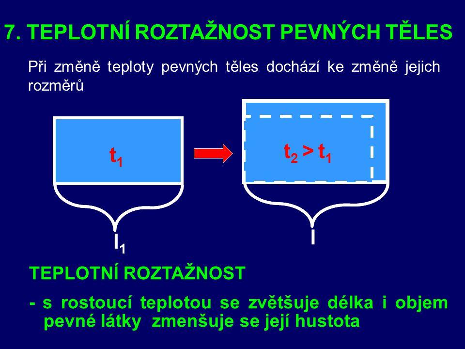 1)Tyč délky 5 m se prodloužila o 2 cm, jaké je její prodloužení v %? [ε = 4.10 -3 = 0,4 %] 2) 2)Jaká byla původní délka tyče, jestliže prodloužení o 1