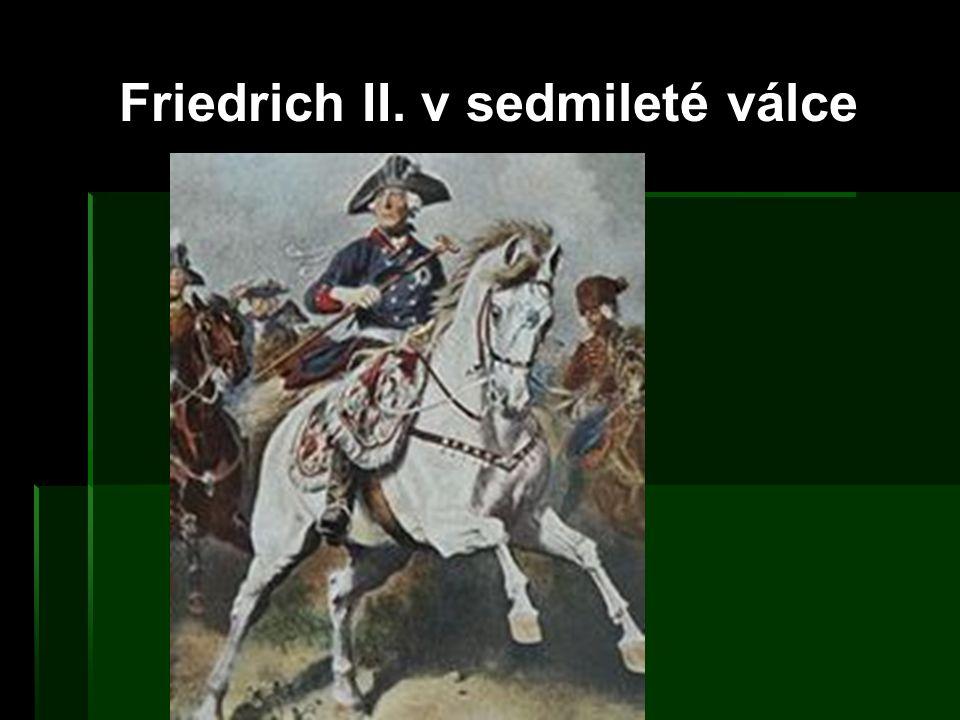 Friedrich II. v sedmileté válce