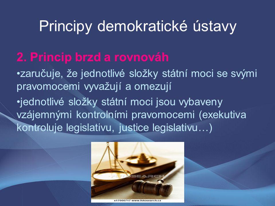 Principy demokratické ústavy 2.